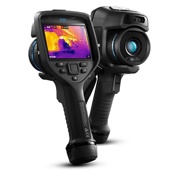E95 赤外線サーモグラフィ FLIR | 計測器 | TechEyesOnline