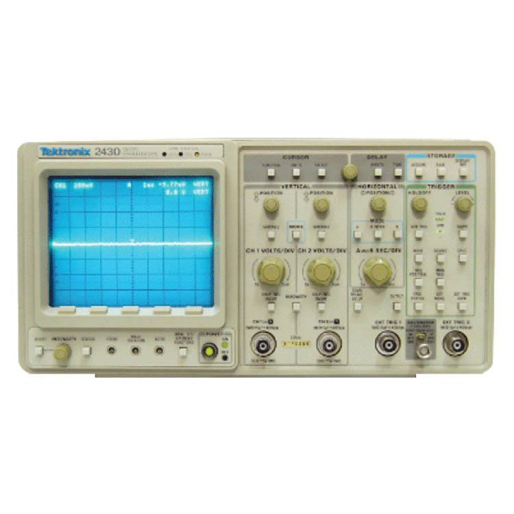 2430 ディジタルオシロスコープ テクトロニクス 計測器 techeyesonline